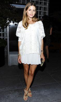 Olivia Palermo via @Who What Wear