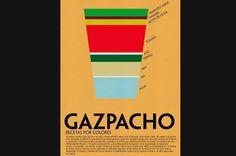 La receta infográfica para homenajear a los clásicos de la comida española por Laura Valero.