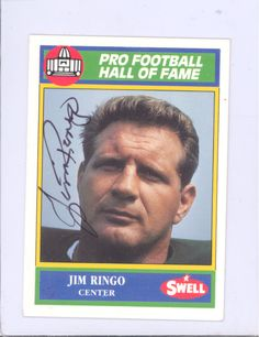 JIM-RINGO-HAND-SIGNED-AUTOGRAPH-CARD-GREEN-BAY-PACKERS-HOF-COA