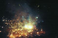 grett:  fireworks n galaxies by kelsey hannah on Flickr.
