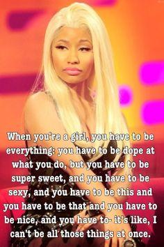 Another one of Nicki Minaj's amazing quotes!!!!! <3