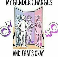 Yee but what's not okay is being buttless. In all seriousness you are perfect the way you are and feel comfortable as. Don't let people shame you. Stand tall and proud❤ Lesbian, Gay, Genderqueer, Lgbt Community, Transgender, Equality, Brave, Gender Roles, Stand Tall