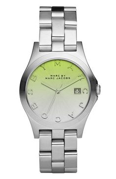 Marc by Marc Jacobs Henry - Colored Crystal Bracelet Watch.  LOVE THIS!
