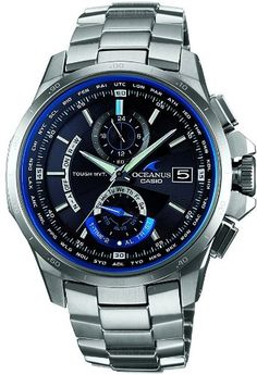 Casio | Casio Oceanus Ocw-T1000-1AJF Tough Solar Multiband 6 By Casio | REVIEW CASIO PRODUCTS