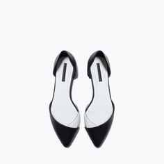 VINYL D'ORSAY SHOES from Zara
