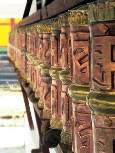 Prayer Wheels - Manali, India
