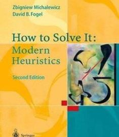 How To Solve It: Modern Heuristics PDF