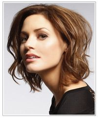 Short Hairstyle For Wavy Hair : Hairstyles | Hairstyles, Celebrity Hair Styles and Haircuts | TheHairStyler.com