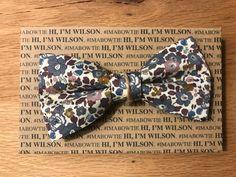 Noeud papillon WILSON by Lauren Vickers - London Gentleman Shop, Bows, London, Accessories, Hair Bow, Butterflies, Weddings, Arches, Bowties