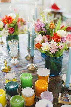 Art wedding details | Stefano Santucci Photography | see more on: http://burnettsboards.com/2015/09/art-themed-wedding-artists/