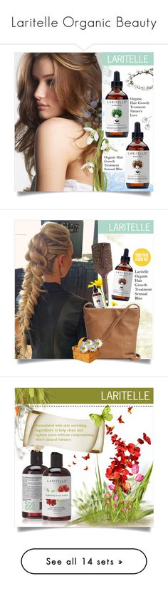 """""""Laritelle Organic Beauty"""" by laritelle ❤ liked on Polyvore featuring beauty, Marc Jacobs, BAGGU, Wyld Home, Leonor Greyl, Henri Bendel, Elliott Lucca, Tangle Teezer and Bio Ionic"""