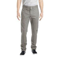 Dickies Men's Skinny Straight Fit Flex Twill Double Knee Pant-