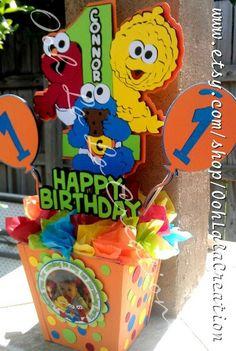 Sesame Street centerpiece