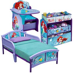 Disney Little Mermaid Room-in-a-Box