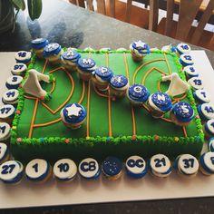 Lacrosse cake champions