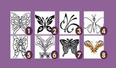 Этот простой, но очень необычный тест основан на подсознании человека. Выбирая понравившуюся бабочку, вы неосознанно показываете черты вашего характера.