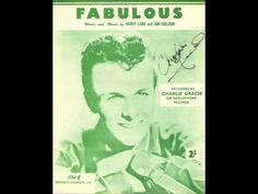 Charlie Gracie - Fabulous ( 1957 ) - YouTube