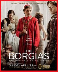 Perfect present for friends who love history: the books or CD about Borgia...