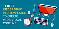 Download some of our professional infographic PSD templates and kick start creating awesome visual content that goes viral.