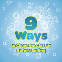9 Ways to Clean the Clutter Before Selling a Home: http://www.point2.com/blog/2014/10/15/9-ways-clean-clutter-selling-home/  #realestate