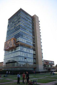 Torre de Rectoría, Ciudad Universitaria, México, D.F.