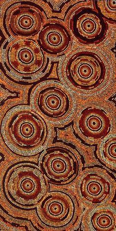 Selma Napanangka Tasman, Wanakiji Jukurrpa (Bush Tomato Dreaming), 122x61cm