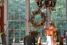 Fall kitchen decor 041