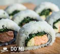 Sushi ze szpinakiem
