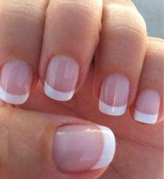 Gel French manicure by Tu. Gel French manicure by Tu. Gel French manicure by Tu. French Manicure Nails, French Manicure Designs, Shellac Nails, Manicure And Pedicure, Manicure Ideas, French Pedicure, Pedicures, Nails Design, French Toe Nails