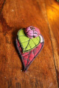 Broches textiles #2 - La Malle d'Adèle