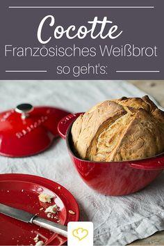 Zur Suppe lieben wir frischgebackenes Brot! Mit der Cocotte gelingt euch das auch ganz easy zuhause.