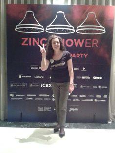 Llena de ilusión está Paloma para ofrecer todo lo mejor de El Sinvivir en Zinc Shower!!