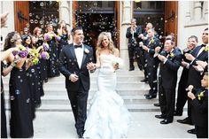 #bubbles #wedding #exit