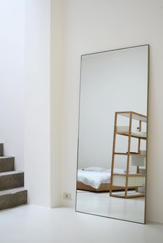 STEEL FRAME MIRROR - Designer Mirrors from Bautier ✓ all information ✓ high-resolution images ✓ CADs ✓ catalogues ✓ contact information ✓ find. Home Bedroom, Bedroom Furniture, Home Furniture, Furniture Design, Bedroom Decor, Ikea Bedroom, Style At Home, My New Room, Cheap Furniture