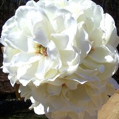 SOUTHERN BELLE magnolia wedding bouquet set -- 3rd payment RESERVED for J