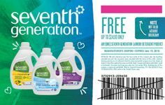 FREE Seventh Generation Laundry Detergent - freecoupongraphic http://www.groceryalerts.ca/free-seventh-generation-laundry-detergent/