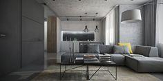Interior design, Using Grey Effectively For Interior Design