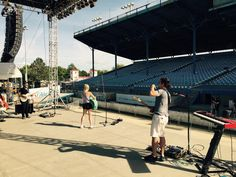 Sound checking  @ClayCountyFair
