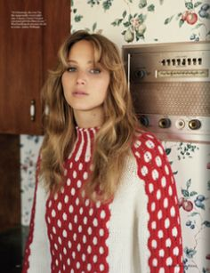 Vogue photoshoot - Jennifer Lawrence
