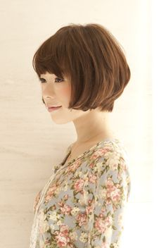 This is really cute, but my hair gets curlier the shorter it gets, so if I went for this haircut I'd have an afro.