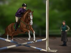 BEC Show Jumping Clinic by life-d-sign
