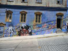 Graffiti in Cumming, Valparaíso, Chile by Kjetilei, via Flickr