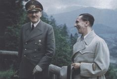 BLIND FOLLOWERS like Joseph Goebbels asked after reading Mein Kampf: 'Who is this man? half plebian, half god! Truly Christ, or only St John?' He saw him as a genius, wanted him as a friend, and wrote in his diary on 19 April 1926: 'Adolf Hitler, I love you.'-Goebbels a loyal follower to his leader HItler to the end would later like Hitler kill his daughter and along with his Wife kill himself.. LIKE HITLER..