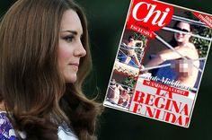Publicadas en Italia nuevas fotos de Kate Middleton en 'topless' (con vídeo) vía @cerestv