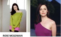 Rose McGowan. Clear Spring colors
