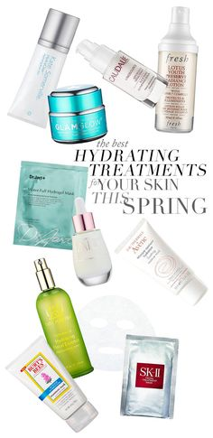 The Best Hydrating Treatments For Your Skin This Spring