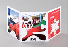 Creative brochure design and website design and build for playground equipment designers Snug