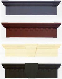 Exterior Window Headers | window header styles standard headers solid one piece construction ...