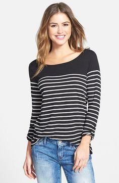 http://shop.nordstrom.com/s/caslon-roll-sleeve-stripe-top-regular-petite/3899333?origin=shoppingbag
