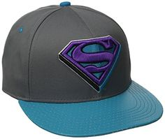 DC Comics Men's Superman Flat Brim Hat, Grey, One Size DC Comics http://www.amazon.com/dp/B00KRANXGG/ref=cm_sw_r_pi_dp_vijaub0081KQ7